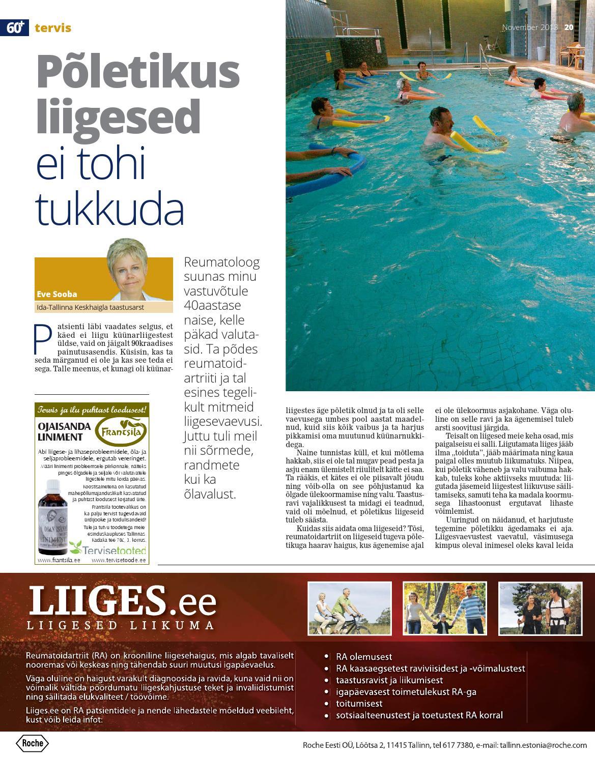 Liigeste ja ujumise haigused