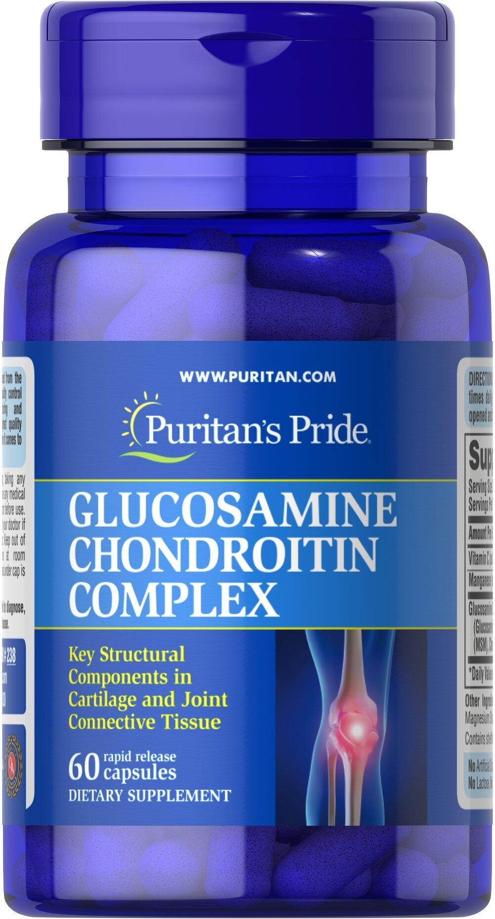 Chondroitiin Glukosamiini kompleks 60 Valu artroosi liigendite tootlemine
