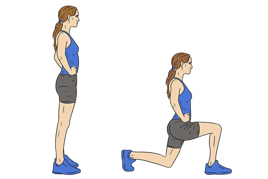Langes valus polve valus lihased ja liigesed, mida see voib olla