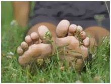 Terav valu jalgsi
