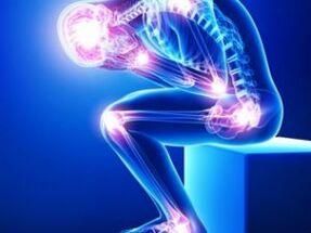 Kuunarnukkide valus liigesed ja lihased Haiguste-bursiit liigeste artroos
